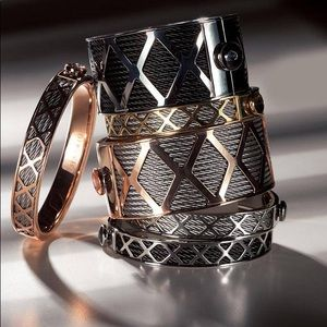 CHARRIOL  Stainless Steel FOREVER Cuff